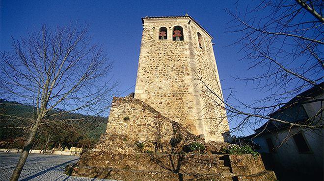 Dornes, Torre pentagonal